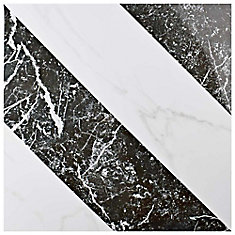Elegance Luxe 17-3/4-inch x 17-3/4-inch Porcelain Floor and Wall Tile (11.25 sq. ft. / case)