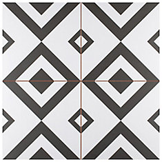 Brixton 17-5/8-inch x 17-5/8-inch Ceramic Floor and Wall Tile (11.02 sq. ft. / case)