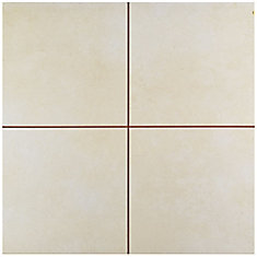 Evasion Hueso 17-5/8-inch x 17-5/8-inch Ceramic Floor and Wall Tile (11.02 sq. ft. / case)