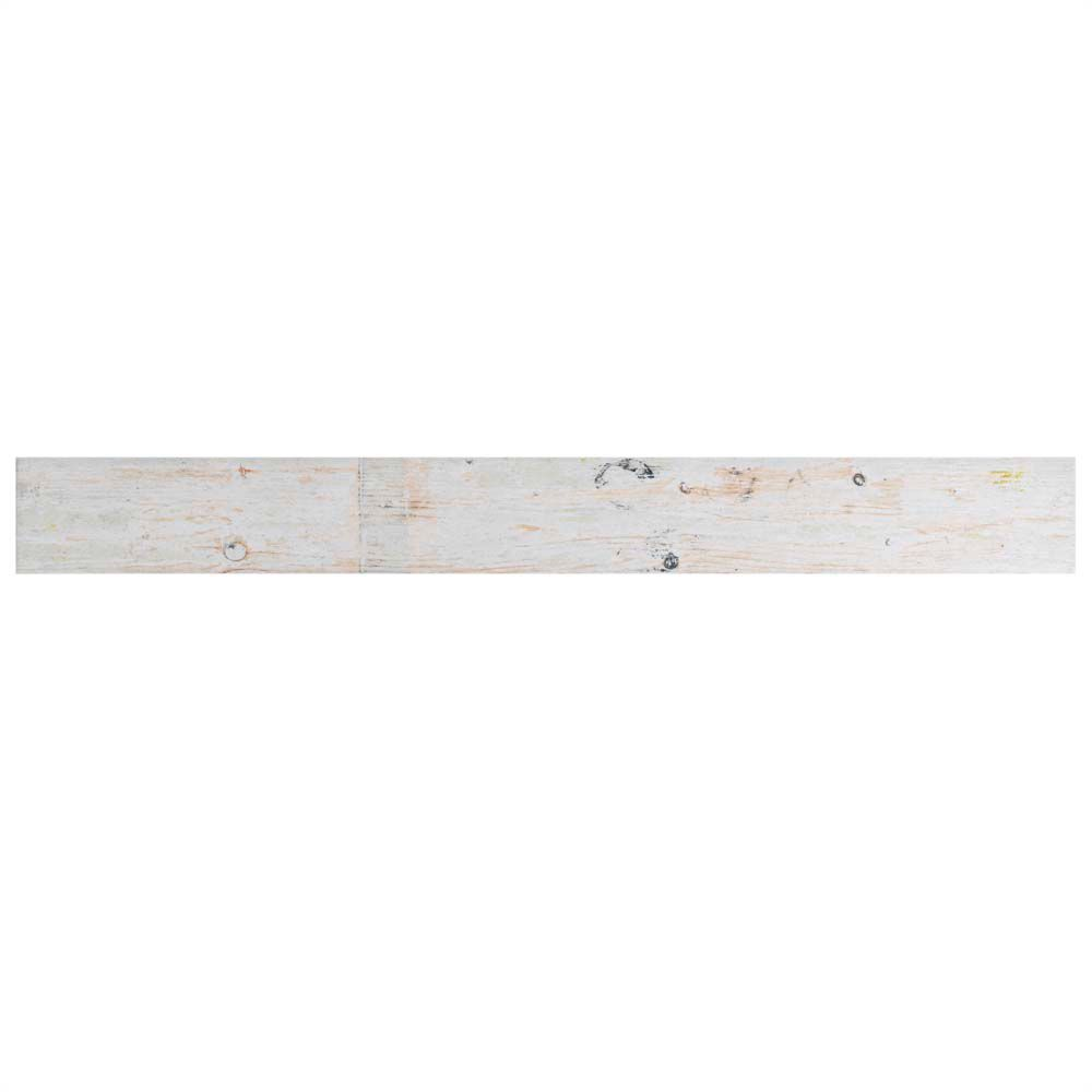 Merola Tile Melvin White 2-7/8-inch x 26-1/2-inch Porcelain Floor and Wall Tile (8.72 sq. ft. / case)