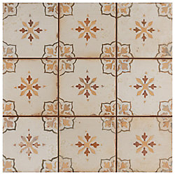 Merola Tile Mirambel Marron 13-inch x 13-inch Ceramic Floor and Wall Tile (12.2 sq. ft. / case)
