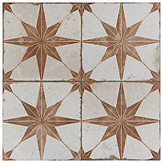 Kings Star Oxide 17-5/8-inch x 17-5/8-inch Ceramic Floor and Wall Tile (11.02 sq. ft. / case)