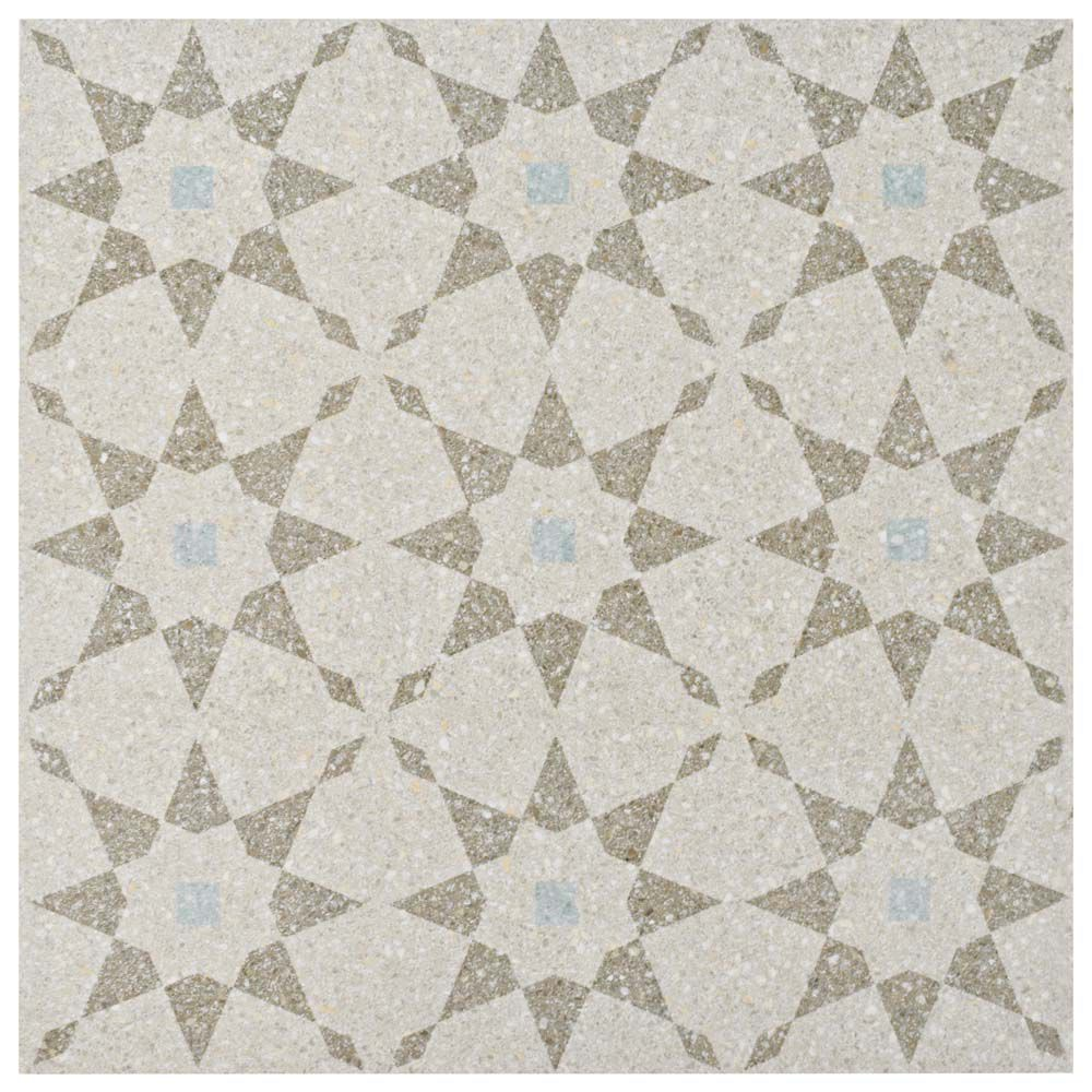 Merola Tile Farnese Aventino Crema 11-1/2-inch x 11-1/2-inch Porcelain Floor and Wall Tile(10.55 sq. ft. / case)