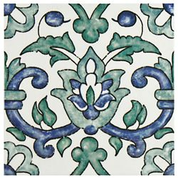 Merola Tile Bourges Gaia 7-7/8-inch x 7-7/8-inch Ceramic Wall Tile (11.46 sq. ft. / case)