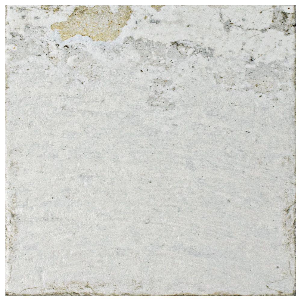 Merola Tile Aevum White 7-7/8-inch x 7-7/8-inch Ceramic Wall Tile (11.46 sq. ft. / case)