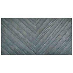 Merola Tile Osaka Marengo Deco 12-1/2-inch x 24-5/8-inch Porcelain Wall Tile (11.01 sq. ft. / case)