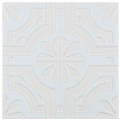 Triplex Fronteira White 7 3 4 Inch X Ceramic Wall Tile 11 Sq Ft Case