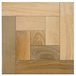 Merola Tile Cancun Nogal 12-1/2-inch x 12-1/2-inch Ceramic Floor and Wall Tile (11.29 sq. ft. / case)