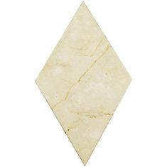 Carreau mural en céramique 6 3/4 po x 11 3/4 po Aurea beige uni (6,55 pi2/bte)