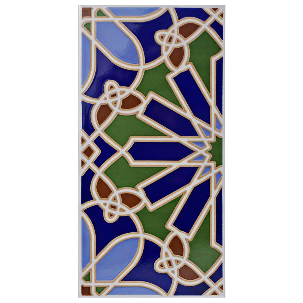 Merola Tile Artesanal Alhambra 5-1/2-inch x 11-inch Ceramic Wall Tile (11.23 sq. ft. / case)