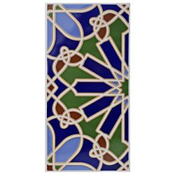 Merola Tile Artesanal Alhambra 5-1/2-inch x 11-inch Ceramic Wall Tile (11.23 sq. ft. / case)