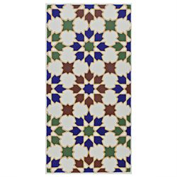 Merola Tile Artesanal Arahal 5-1/2-inch x 11-inch Ceramic Wall Tile (11.23 sq. ft. / case)