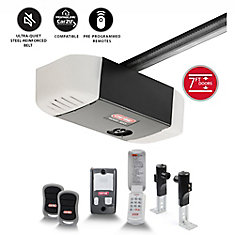 SilentMax 750 3/4 HPc Belt Drive Garage Door Opener with added Wireless Keypad