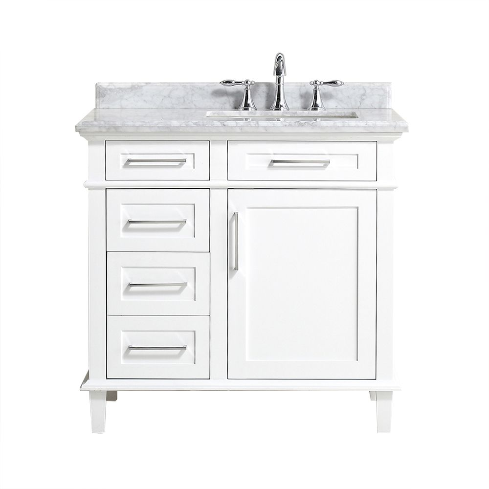 Home Depot Sonoma Vanity: Home Decorators Collection Sonoma 36-inch Single Sink
