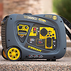 3650/3300 Watt Recoil Start Inverter Portable Generator CARB and cETL Certified