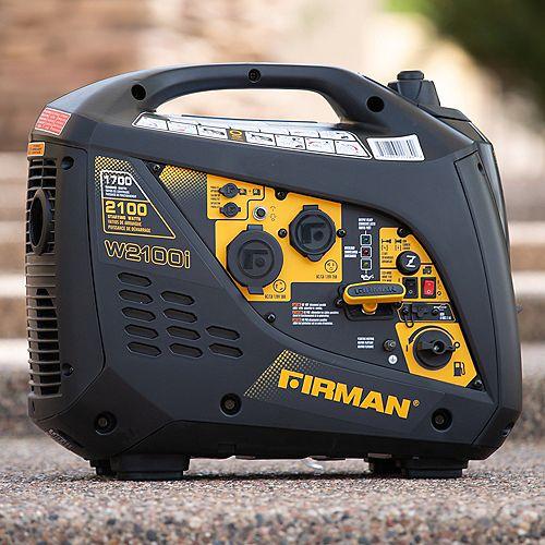 Firman Generators 2100/1700 Watt recoil start Gas Portable Generator cETL & CARB Certified With Built-In Parallel Kit