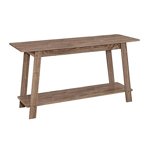 Monarch Specialties Tv Stand - 42-inch L Dark Taupe