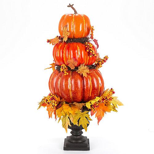 2.5 ft. Stacked Pumpkin