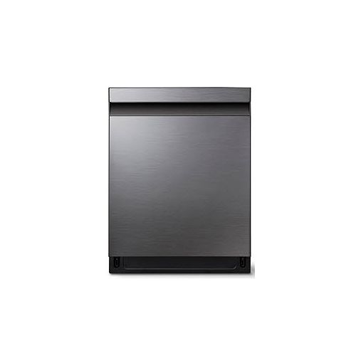 Samsung 24-inch Top Control Dishwasher in Black Stainless Steel with Stainless Steel Tub, 39 dBA - ENERGY STAR®