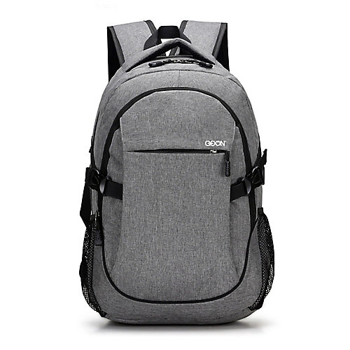 Smart Oxford Back Pack Grey