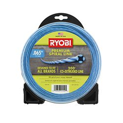 RYOBI 0.065 inch x 200 ft. Heavy-Duty Spiral Corded and Cordless Trimmer Line