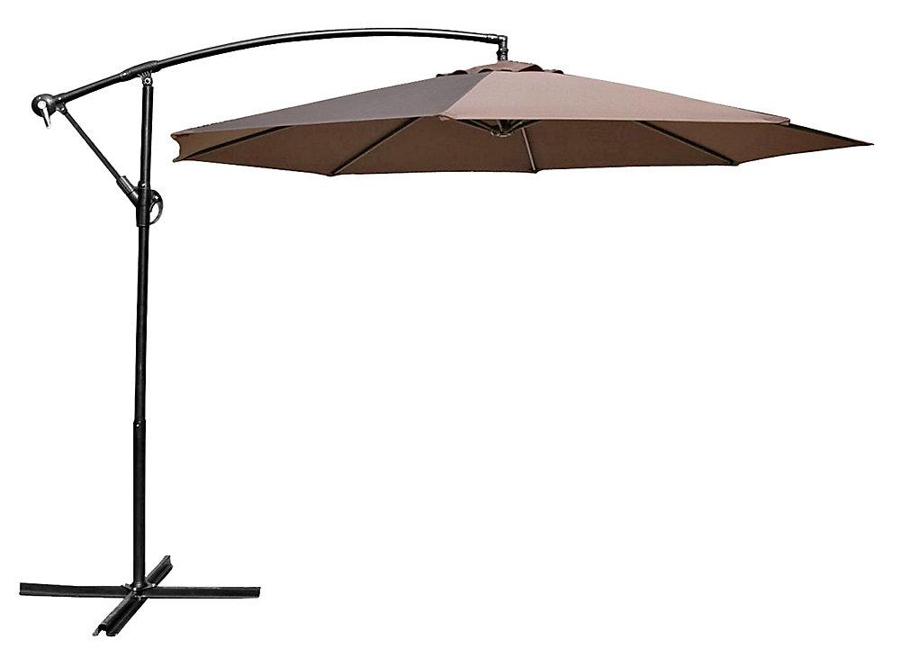 10 ft. Cantilever Umbrella Chocolate