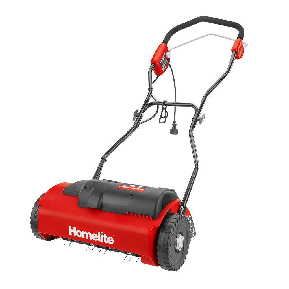 Homelite 14-Inch 10 Amp Electric Dethatcher