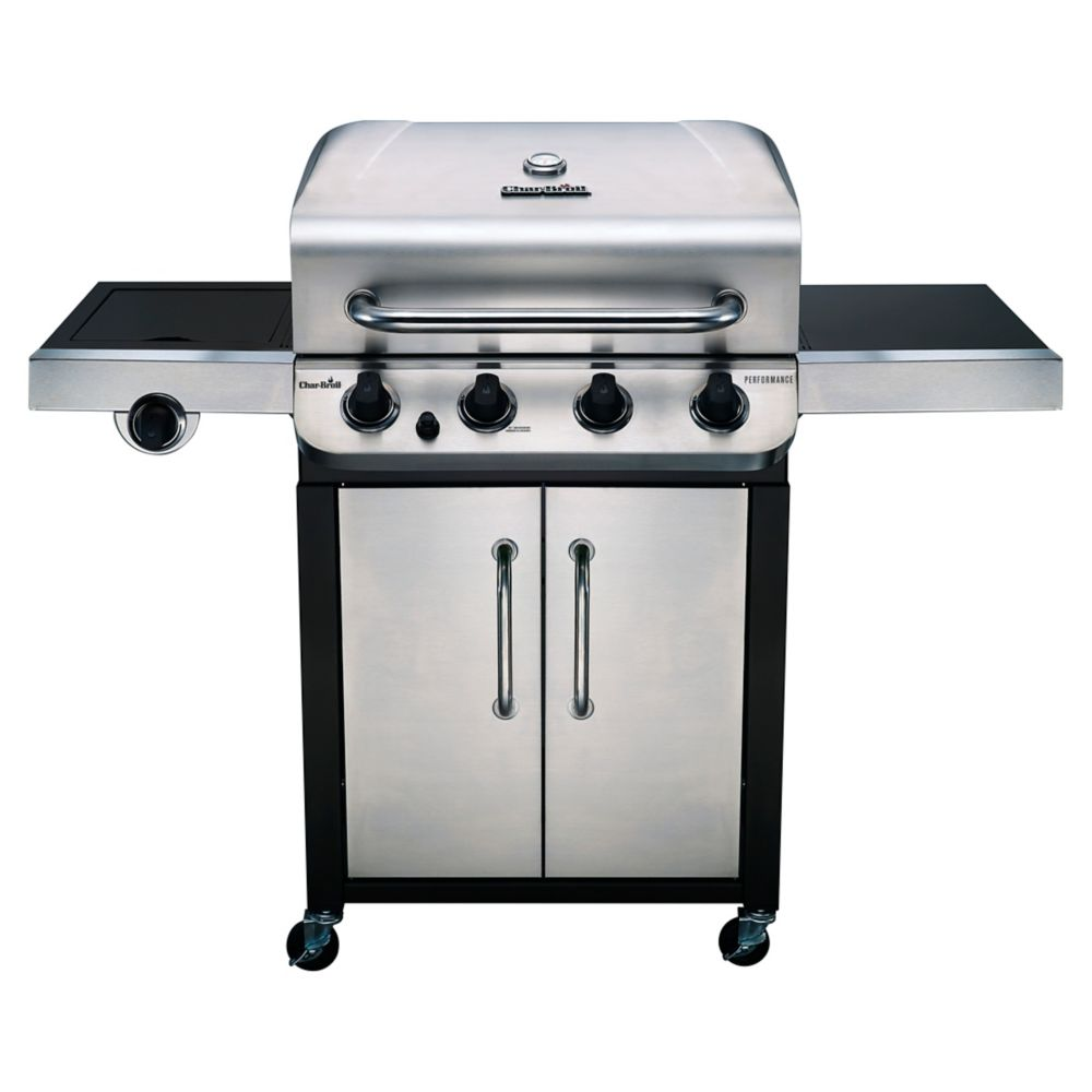 Char-Broil Performance Series 4-Burner Gas Grill Stainless