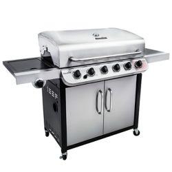 Char-Broil Barbecue au gaz série de style armoire à 6 brûleurs Performance