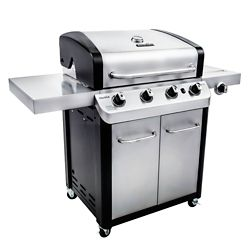 Char-Broil Signature 4-Burner Gas Grill in Stainless Steel