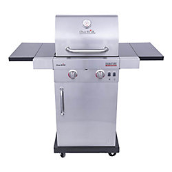 Char-Broil Signature TRU-Infrared 2-Burner Gas Grill in Stainless Steel