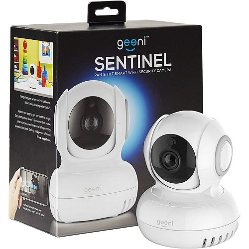 Geeni SENTINEL Pan & Tilt Smart Wi-Fi Security Camera