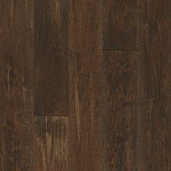 Bruce Plancher, bois massif, 3/4 po x 5 po x longueurs variées, Caryer saveur café, 23,5 pi2/boîte