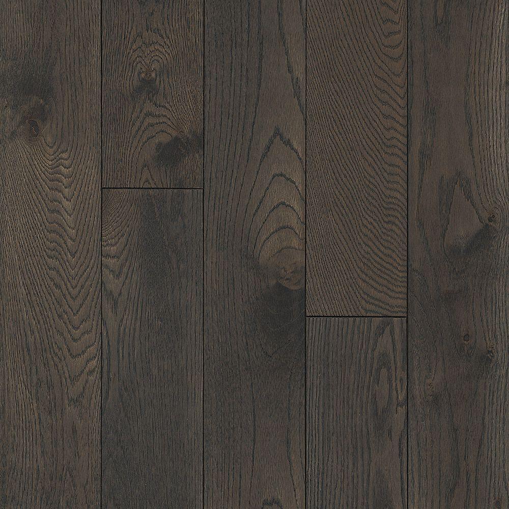 Oak Shadowy Gray 3/4-inch T x 5-inch W x Varying Length Solid Hardwood Flooring (23.5 sq.ft./case)