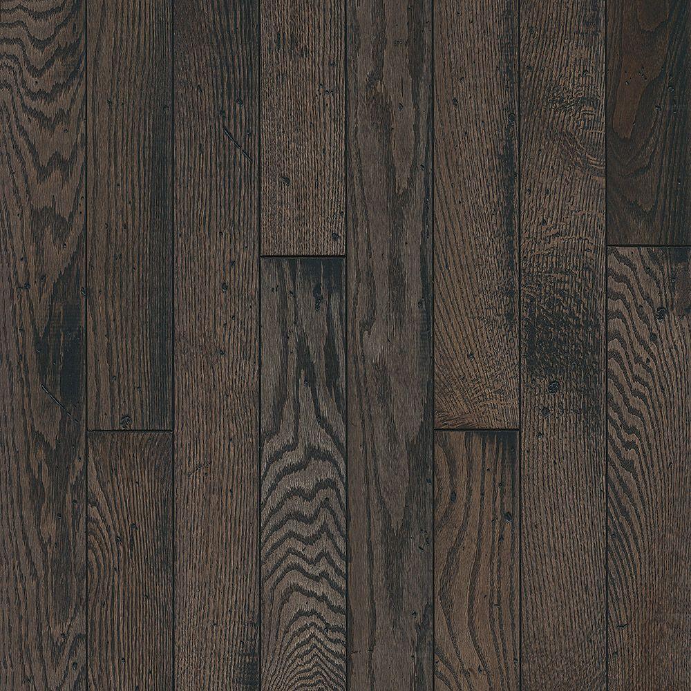 Bruce Oak Rustic Tone Gray 3/4-inch T x 3-1/4-inch W x Varying L Solid Hardwood Flooring (22 sq.ft./case)
