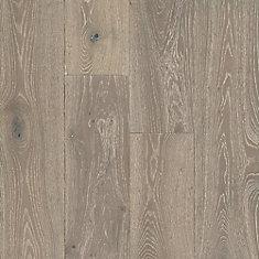 White Oak Greige 1/2-inch T x 7-1/2-inch W x Varying L Eng. Hardwood Flooring (25.73 sq.ft./ case)