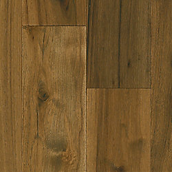 Bruce Hickory Wooden Brown 1/2-inch T x 7-1/2-inch W x Varying L Eng. Hardwood Flooring(25.73 sq.ft./case)
