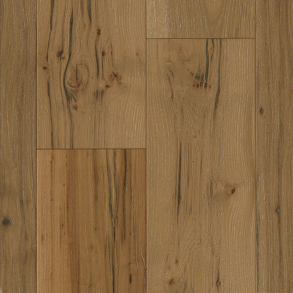 Bruce Hickory Marsh Tan 1/2-inch T x 7-1/2-inch W x Varying L Eng. Hardwood Flooring (25.73 sq.ft./ case)