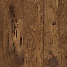 Hickory Golden Brown 1/2-inch T x Varying W x Varying L Eng. Hardwood Flooring (37.98 sq.ft./ case)