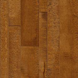 Bruce Plancher, bois massif, 3/4 po x largeur et longueurs variées, Érable Rich Umber, 24 pi2/boîte