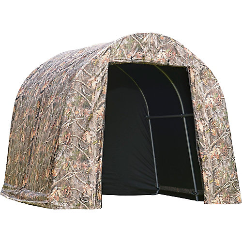 Shed-in-a-Box Roundtop 8 x 8 x 7 ft. Camo