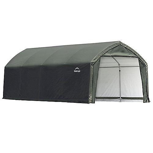 AccelaFrame HD 12 x 20 ft. Shelter Green