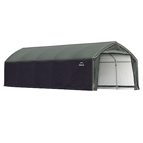 AccelaFrame HD 12 x 25 ft. Shelter Green