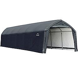 ShelterLogic AccelaFrame HD 12 x 30 ft. Shelter Gray