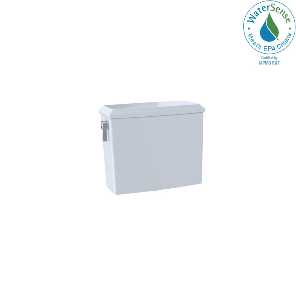 TOTO Connelly Dual-Max Dual Flush 1.28 and 0.9 GPF Toilet Tank, Cotton White