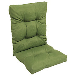 Bozanto Inc. Highback Cushion solid dark green