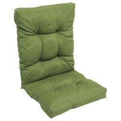 Bozanto Inc. Highback Cushion solid dark green