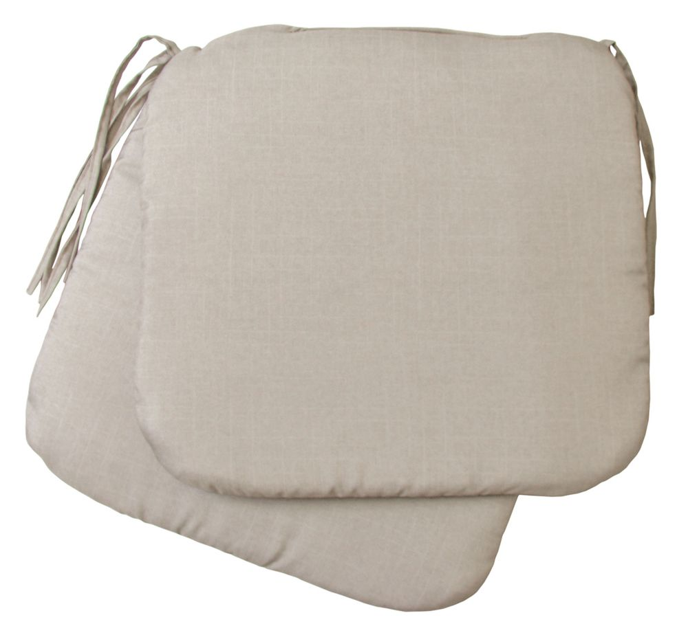 Bozanto Inc. 2 Pack Seat Cushions biege