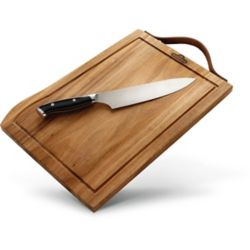 Napoleon Premium Cutting Board and Knife Set