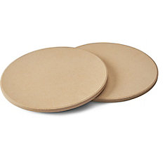 10 inch Personal Sized Pizza/Baking Stone Set